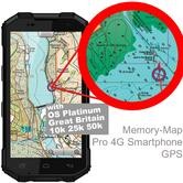 "Memory-Map Defender 5"" GPS 3G RAM 32G Int 13 MP Camera Pro 4G Android Smartphone"