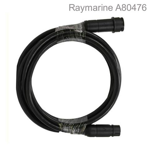 Raymarine A80476|RealVision 3D Transducer Extension Cable|5m|Twist-lock Connector|Waterproof Thumbnail 1