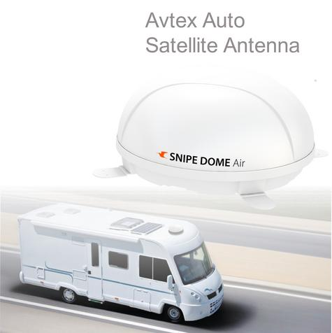 Avtex-SNIPEDOME|Fully Automatic Satellite Antenna|Receiver|Sleek|In Caravan Motor Thumbnail 1