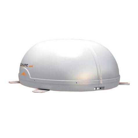 Avtex-SNIPEDOME|Fully Automatic Satellite Antenna|Receiver|Sleek|In Caravan Motor Thumbnail 4