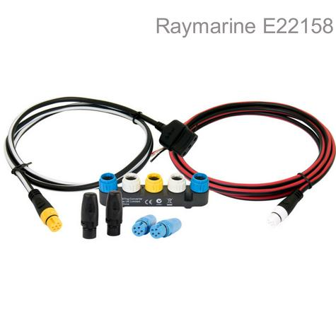 Raymarine E22158|SeaTalk1 To SeaTalkng Converter Kit|For Data Network|ST40/ST60+/R125 GPS Thumbnail 1