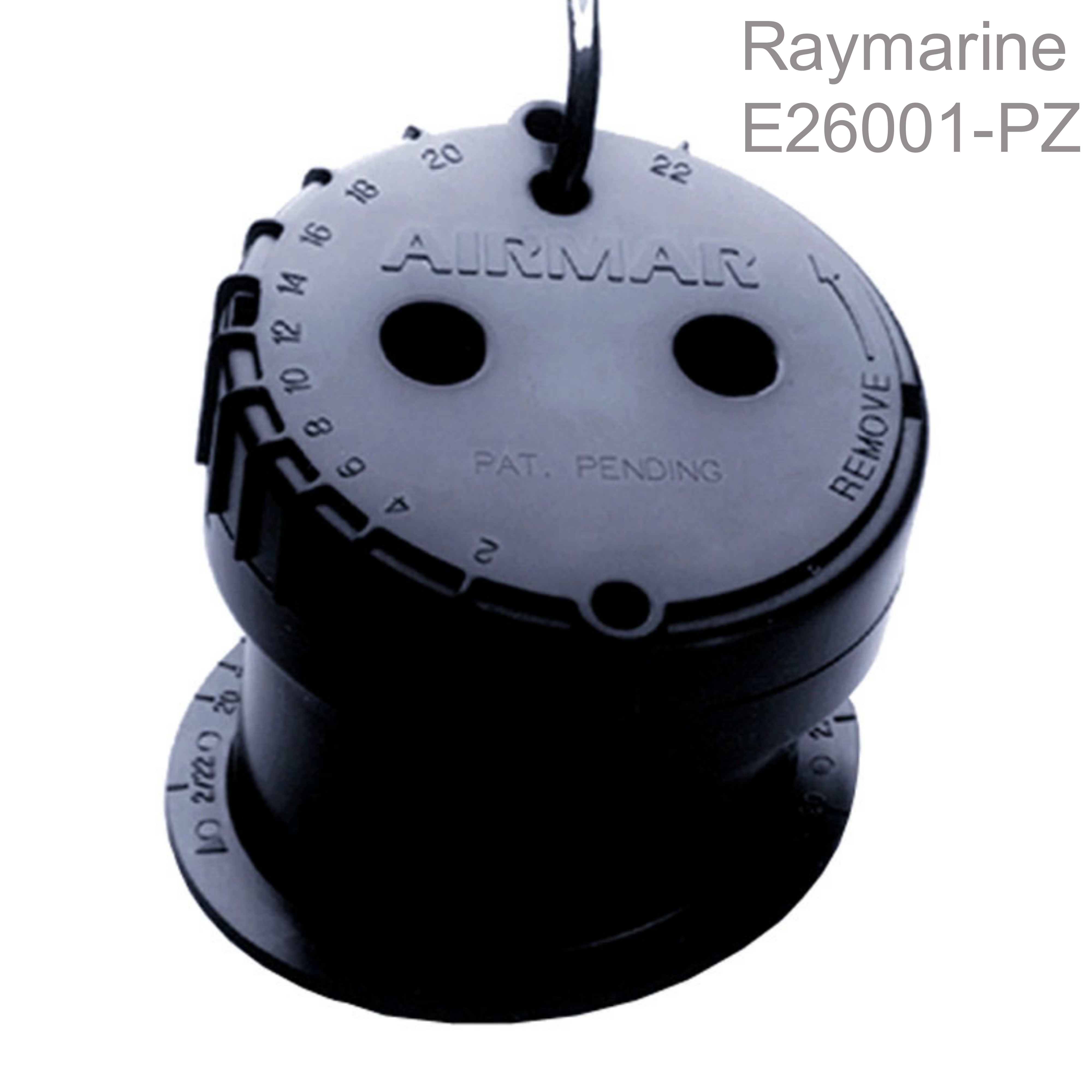 Raymarine P79-600W In Hull Depth Transducer|14m Cable|200 KHZ|Adjust 22º|For i40/50/ITC-5