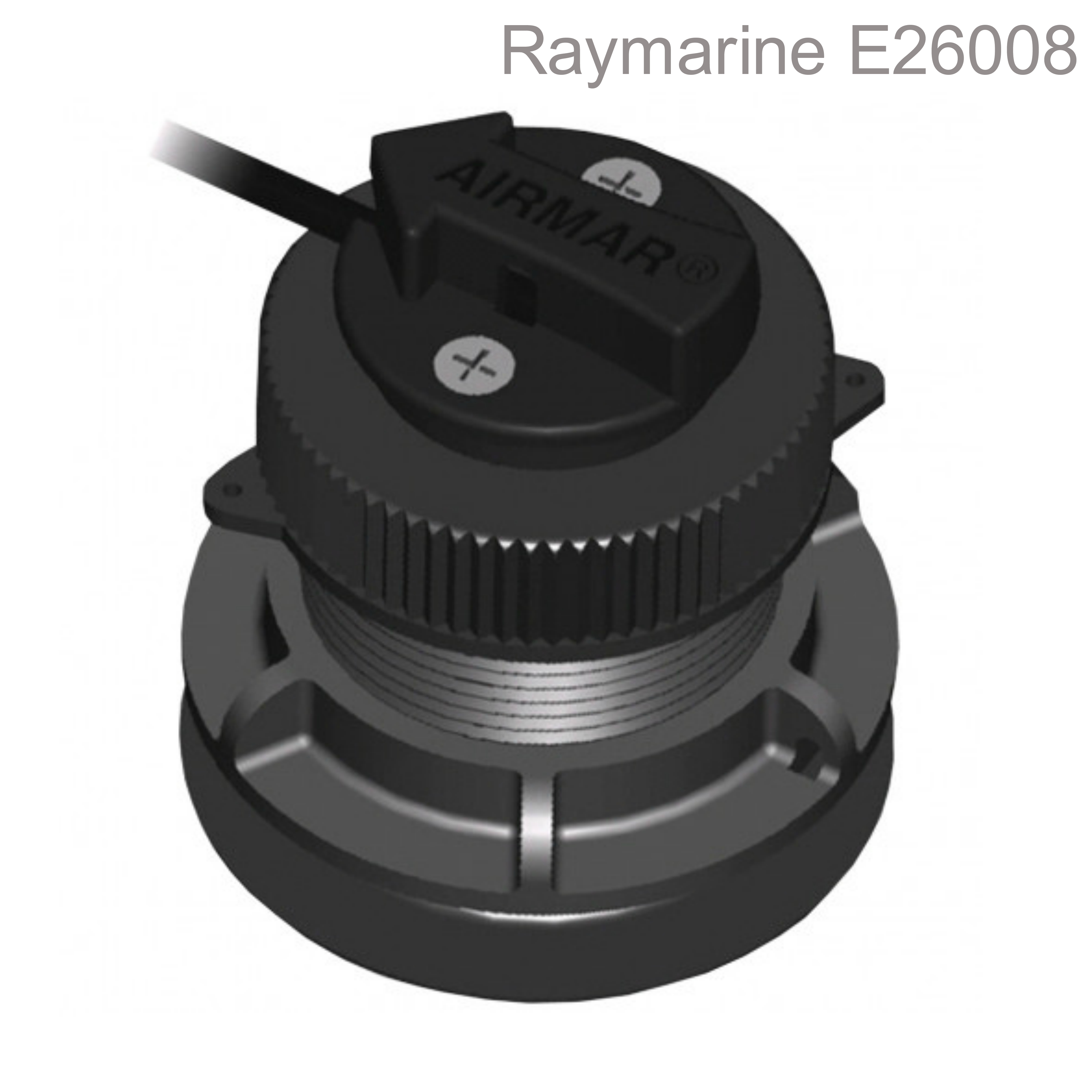 Raymarine ST300/P371 Shorty Thru-Hull LP Transducer|Speed &Temp|10m Cable|i40/i50|For Boats