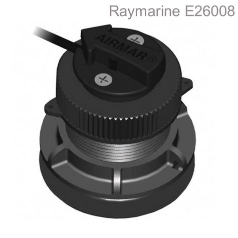 Raymarine ST300/P371 Shorty Thru-Hull LP Transducer|Speed &Temp|10m Cable|i40/i50|For Boats Thumbnail 1