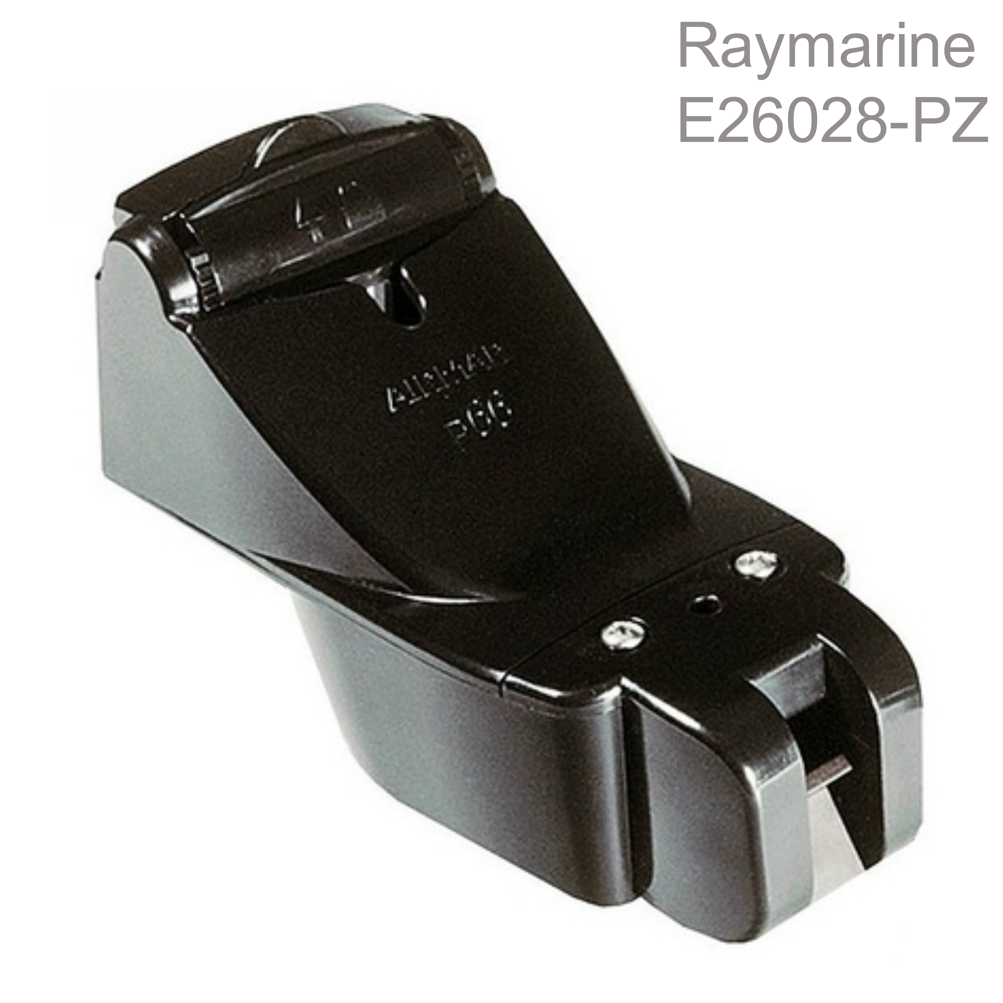 Raymarine E26028-PZ|P66 Transom Mount Transducer|Speed/ Depth/ Temp|50/200 kHz