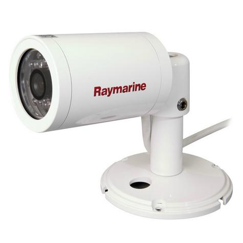 Raymarine CAM 100 Marine CCTV PALVideo Camera Day & Night 550 TVL 14 IR LED IPX6 Thumbnail 2