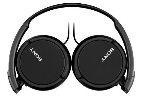 Sony MDRZX310APB Folding Stereo Headphones|Smartphone Mic Control|Metallic Black Thumbnail 2