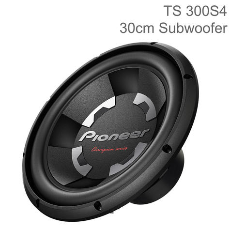 "Pioneer Champion Series 12""/30cm Dual Voice Coil Car Subwoofer 
