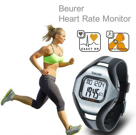 Beurer PM18 Heart Rate Monitor|Pulse/Calorie/Fate|Sports Wrist Watch|Finger Sens Thumbnail 1