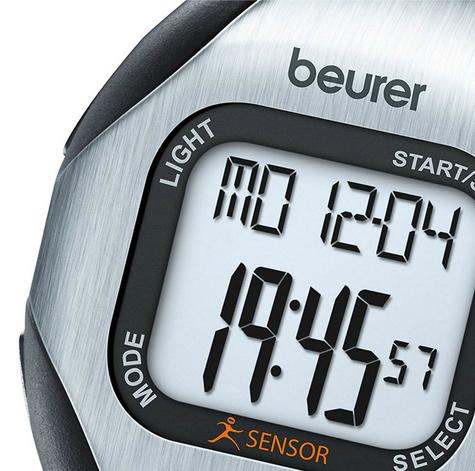 Beurer PM18 Heart Rate Monitor|Pulse/Calorie/Fate|Sports Wrist Watch|Finger Sens Thumbnail 6