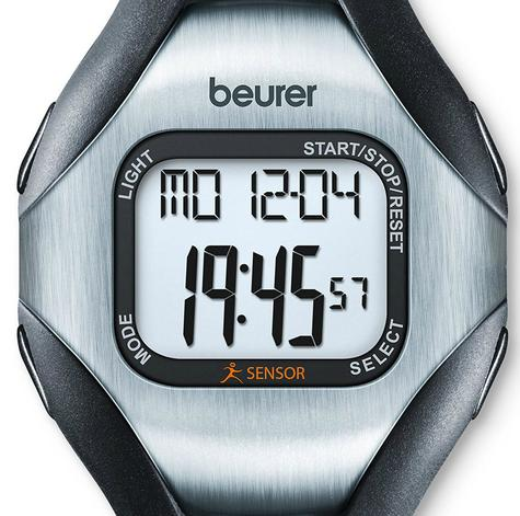 Beurer PM18 Heart Rate Monitor|Pulse/Calorie/Fate|Sports Wrist Watch|Finger Sens Thumbnail 7