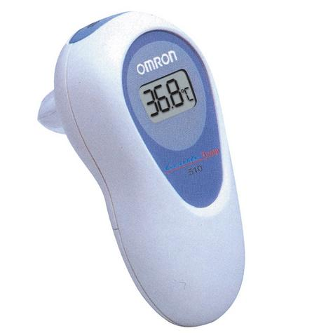 Omron GT510 Compact Gentle Temp Infrared Baby Ear Thermometer With Beeper - NEW Thumbnail 2