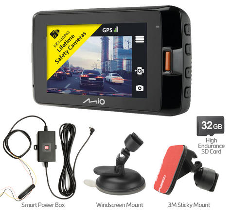 Mio MiVue 792 Profit|Car Dash Camera|Night Vision|Wi-Fi|GPS Eyewitness-Accident Recording Thumbnail 2