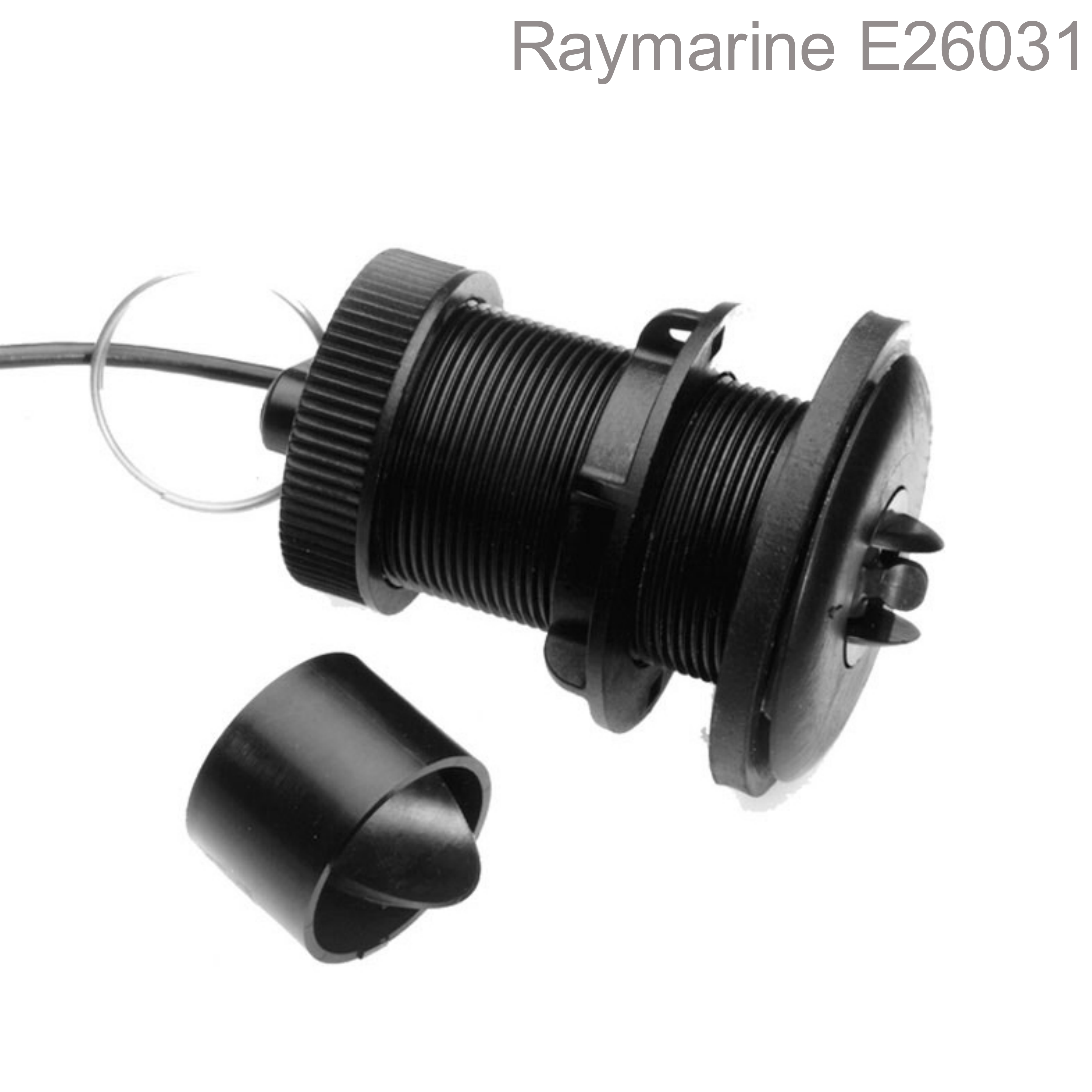 Raymarine ST800/P120 Plastic Thru-Hull LP Speed Transducer & 14m Cable|Retractable