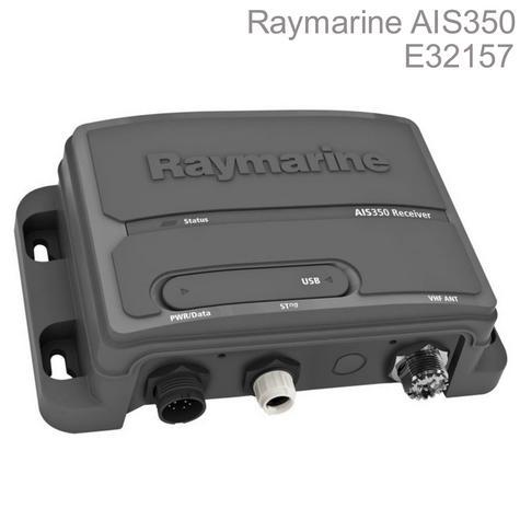 Raymarine-E32157|AIS350 Dual Channel AIS Receiver|USB Port|IPX2|For NMEA/MFD/VHF Thumbnail 1