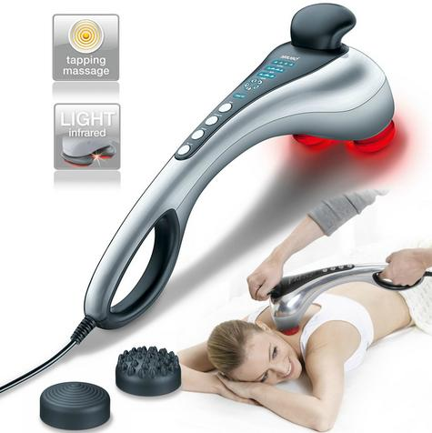 Beurer MG100 Infrared Massager|Tapping Percussion Massage|Back Neck & Shoulders| Thumbnail 1