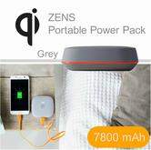 Zens Portable Power Pack/ Bank|Qi Enabled Wireless Charging|Smartphones-Tablets|