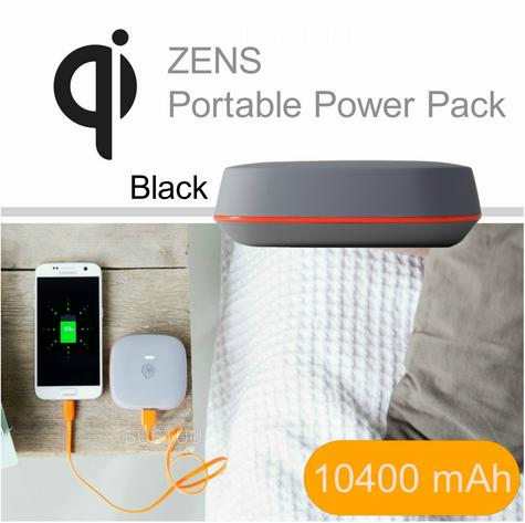 Zens Portable Power Pack/ Bank|Qi Enabled Wireless Charging|Smartphones-Tablets| Thumbnail 1