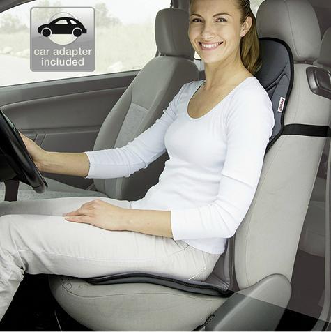 Beurer MG155 Vibrating Seat Cover Soothing Vibration Massage Back Neck & Shoulde Thumbnail 6