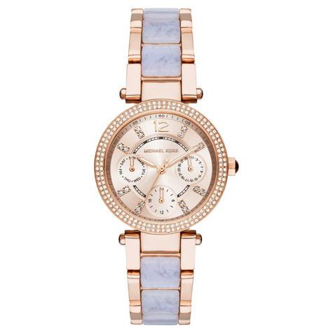 Michael Kors Mini Parker Ladies Watch|Chronograph Dial|Dual Tone Bracelet|MK6327 Thumbnail 1