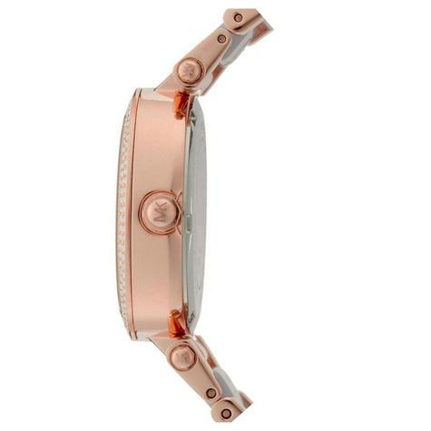 Michael Kors Mini Parker Ladies Watch|Chronograph Dial|Dual Tone Bracelet|MK6327 Thumbnail 2