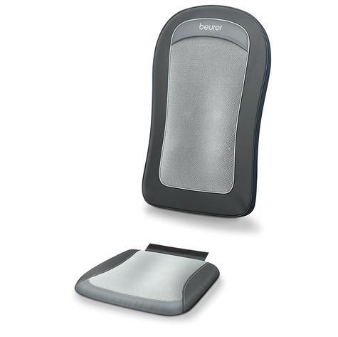 Beurer MG206 Space Saving Shiatsu Seat Cover Back Pain Body Heat Massage Timer  Thumbnail 3