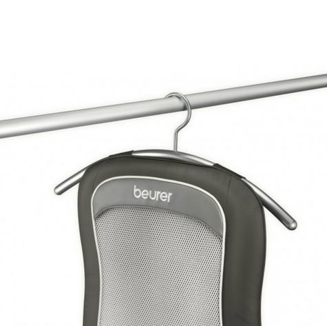 Beurer MG206 Space Saving Shiatsu Seat Cover Back Pain Body Heat Massage Timer  Thumbnail 5