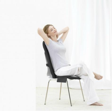 Beurer MG206 Space Saving Shiatsu Seat Cover Back Pain Body Heat Massage Timer  Thumbnail 7