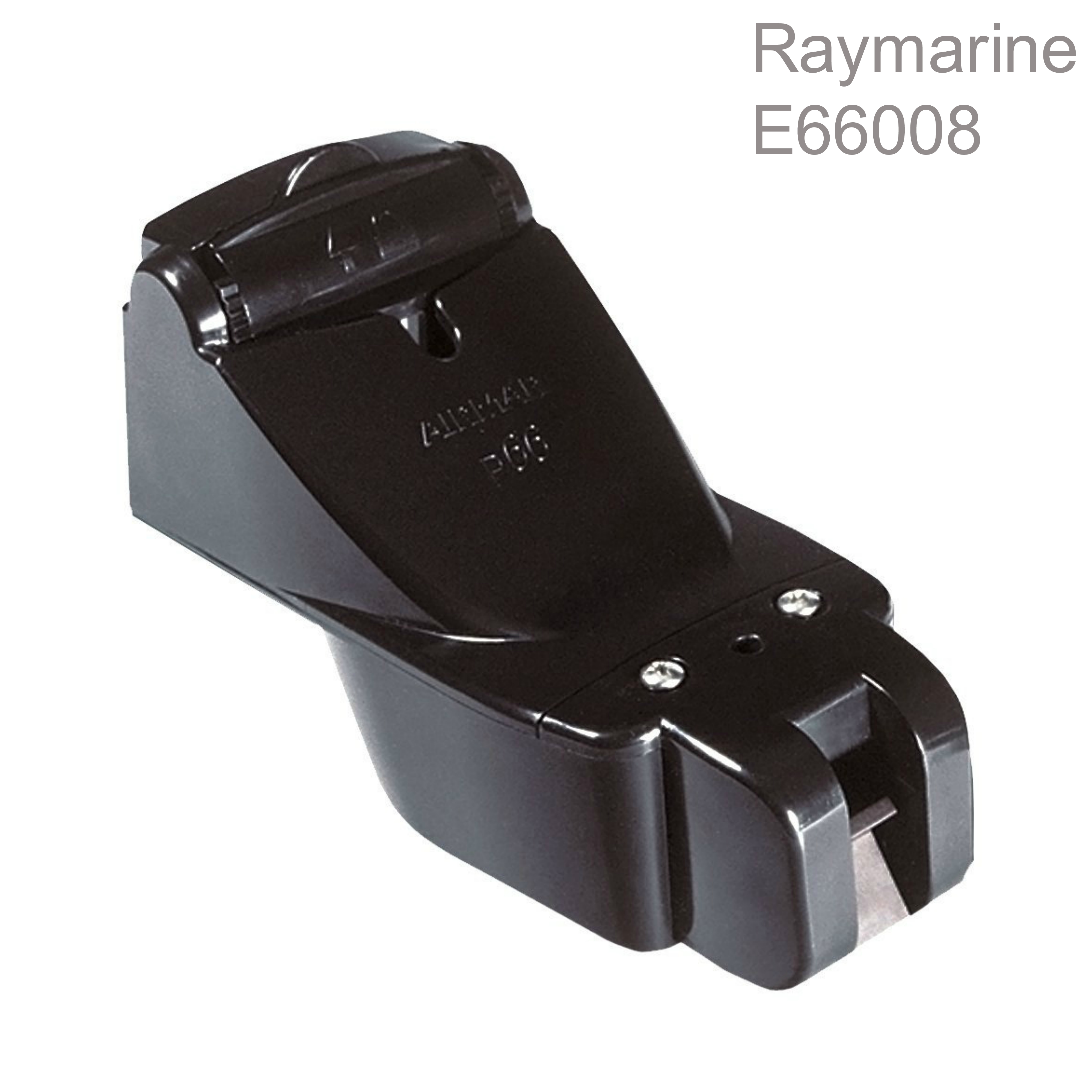 Raymarine-E66054|P66 600W Transom Mount Sonar Transducer|Depth/Speed/Temp|50/200 KHZ