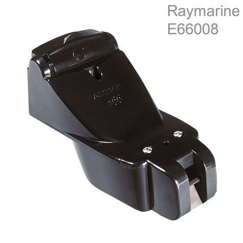 Raymarine-E66054|P66 600W Transom Mount Sonar Transducer|Depth/Speed/Temp|50/200 KHZ Thumbnail 1