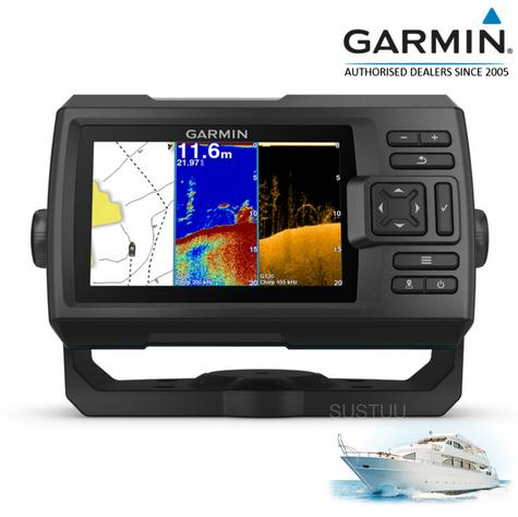 "Garmin STRIKER Plus 5"" Display|Waterproof|GPS|Fish Finder|Navigator|For Marine Thumbnail 1"