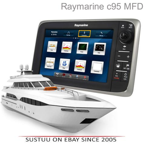 "Raymarine-E70011|c95 Multi-Function Display-9"" LCD