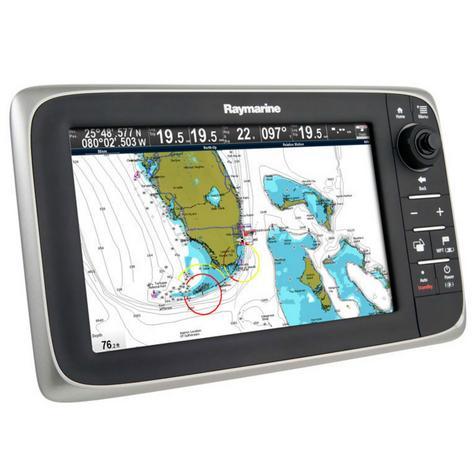 "Raymarine-E70011|c95 Multi-Function Display-9"" LCD|GPS|Sonar|C-MAP|Wi-Fi-Bluetooth Thumbnail 3"