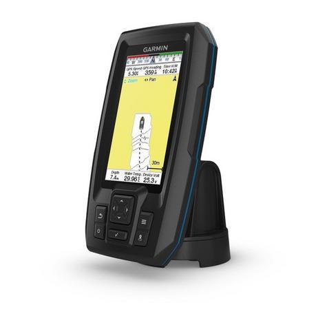 Garmin STRIKER Plus 4cv|GT20-TM Transom Transducer|GPS|IPX7|Fish Finder|In Marine Thumbnail 2