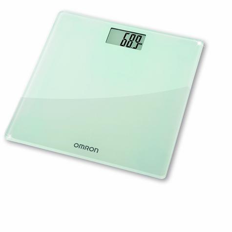 Omron HN286 Digital Slim Bathroom Scale?Personal Body Weight?LCD Display?Silver Thumbnail 2