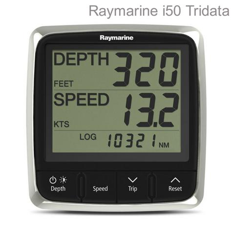 Raymarine E70060|i50 Tridata Digital Instrument Display|Speed & Depth|For Yacht & Boats Thumbnail 1