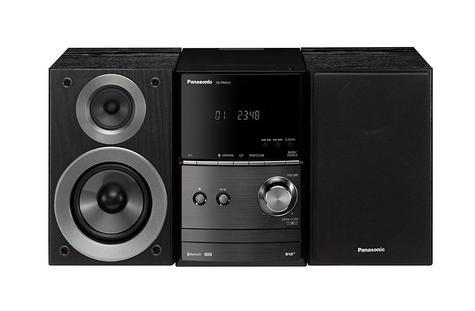 Panasonic SCPM602EBK Bluetooth Micro Hi-FI System-CD/MP3/USB/FM/DAB Radio-Black Thumbnail 3