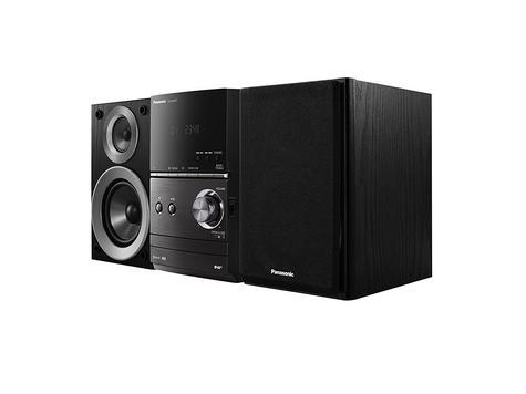 Panasonic SCPM602EBK Bluetooth Micro Hi-FI System-CD/MP3/USB/FM/DAB Radio-Black Thumbnail 2