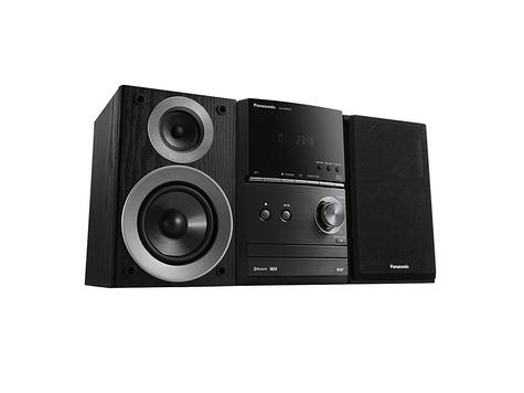 Panasonic SCPM602EBK Bluetooth Micro Hi-FI System-CD/MP3/USB/FM/DAB Radio-Black Thumbnail 4
