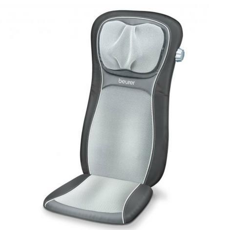 Beurer MG260B Shiatsu Massage Seat Cover|Back Pain Body Heat Massage|HD Black| Thumbnail 2
