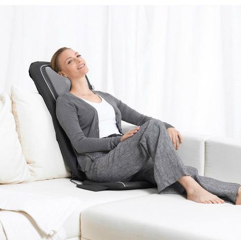 Beurer MG260B Shiatsu Massage Seat Cover|Back Pain Body Heat Massage|HD Black| Thumbnail 5