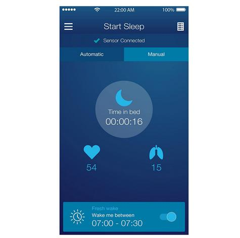 Beurer SE80 Sleep Expert|Scientific Sleep Monitor|Heart & Respiratory Rate Count Thumbnail 6