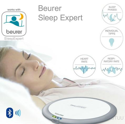 Beurer SE80 Sleep Expert|Scientific Sleep Monitor|Heart & Respiratory Rate Count Thumbnail 1