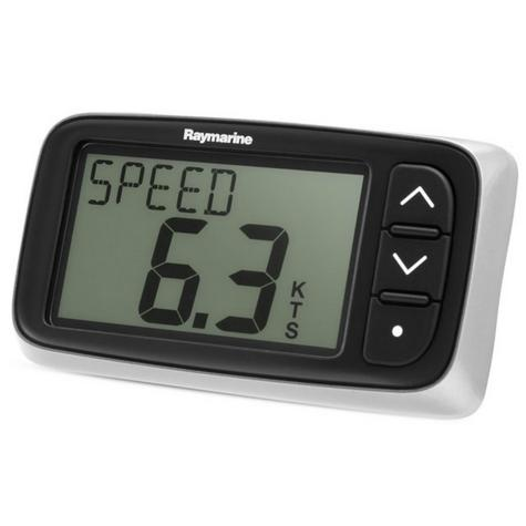 Raymarine E70063|i40 Speed Instrument|Sharp LCDs Display|Low Power|For Yacht & Ribs Thumbnail 3