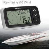 Raymarine E70065|i40 Wind Instrument Display|Sharp LCDs|Large Control|Yacht&Ribs