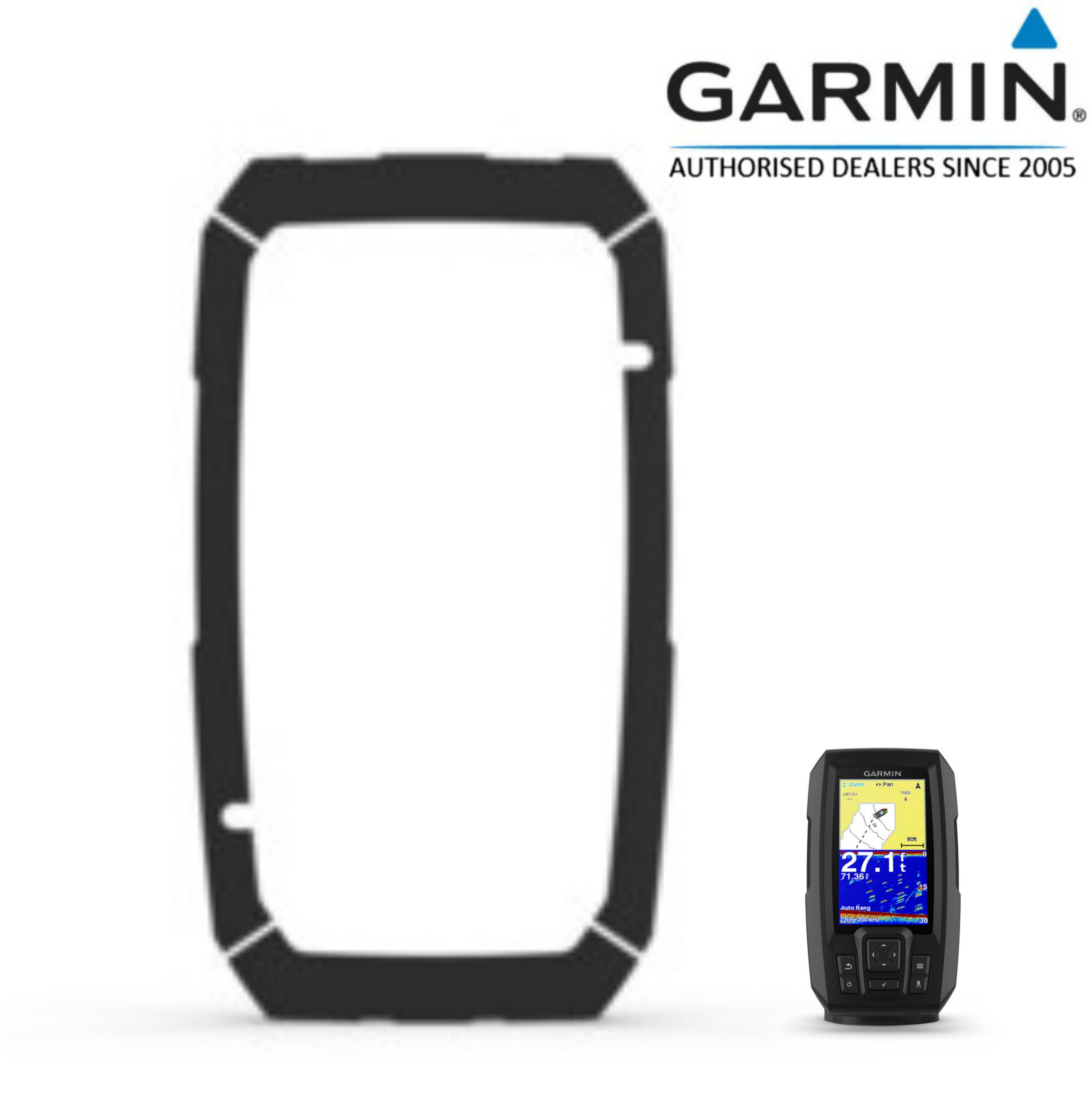 Garmin Flush Mount Kit for STRIKER+ 4/4cv Easy Install Use Marine Device 010-12440-10