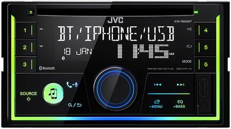 JVC In Car CD Receiver|2DIN|MP3|USB|Aux|Bluetooth|iPod-iPhone-Android-Blackberry Thumbnail 4