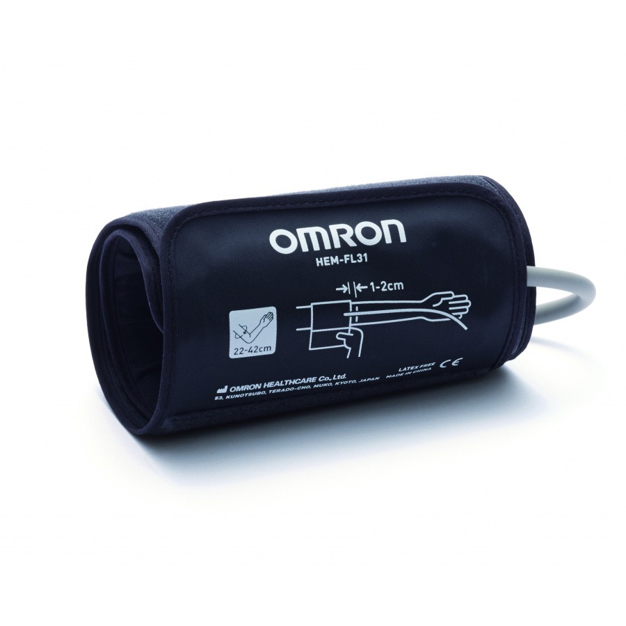 Omron INTECUFF For New M6/M3 (HEM-FL31-E) Blood Pressure Monitor With Connector