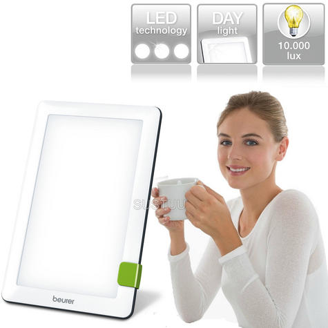 Beurer New TL30 Ultra Portable Daylight Lamp|Body Light Therapy|S.A.D Relief|LED Thumbnail 1