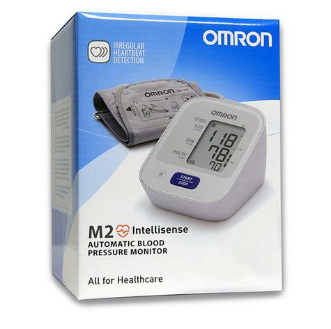 Omron M2Y14 Upper Arm Blood Pressure Monitor|Digital Display|(HEM-7121-E) - White Thumbnail 6